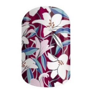 🆕 💅🏼 Jamberry Nail Wraps Delicate Lily